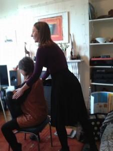 Penelope story massage training
